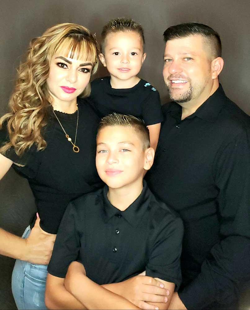 Matthew Leland Cox Family